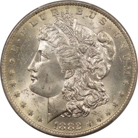 New Certified Coins 1882-O MORGAN DOLLAR – PCGS MS-64 WHITE