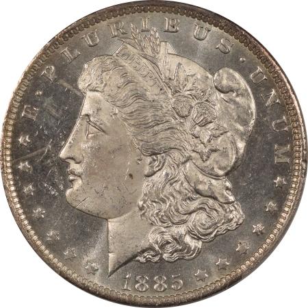 New Certified Coins 1885-O MORGAN DOLLAR PCGS MS-63 DMPL