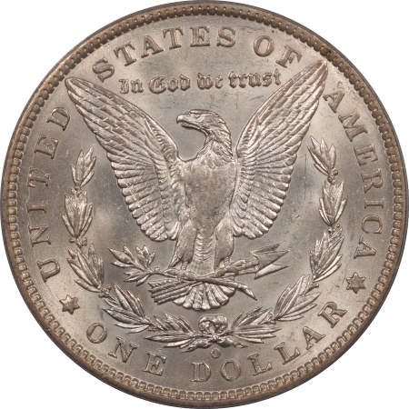 New Certified Coins 1897-O MORGAN DOLLAR – PCGS AU-58 WHITE, NEARLY UNC!