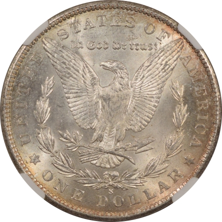 New Certified Coins 1900-S MORGAN DOLLAR – NGC MS-62