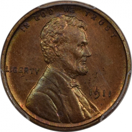 New Certified Coins 1911 MATTE PROOF LINCOLN CENT – PCGS PR-65 RB