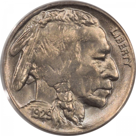 New Certified Coins 1929 BUFFALO NICKEL – PCGS MS-64, PQ, LOOKS GEM!