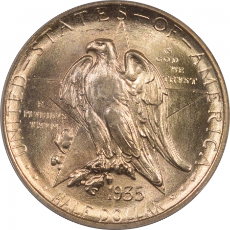New Certified Coins 1935 TEXAS COMMEMORATIVE HALF DOLLAR – PCGS MS-66, 67 QUALITY, PREMIUM QUALITY!