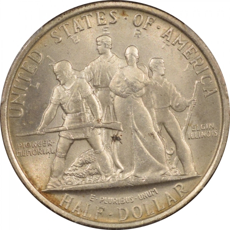 New Certified Coins 1936 ELGIN COMMEMORATIVE HALF DOLLAR – PCGS MS-67