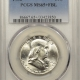 New Certified Coins 1952-S FRANKLIN HALF DOLLAR – PCGS MS-66 PRETTY, PQ! STRONG BELL LINES, CAC!