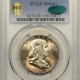 New Certified Coins 1958-D FRANKLIN HALF DOLLAR – PCGS MS-66+ FBL GORGEOUS! CAC APPROVED!