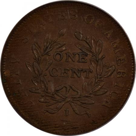 Colonials 1783 COPPER CENT WASHINGTON, UNITY STATES – PCGS AU-53 SMOOTH & PREMIUM QUALITY!