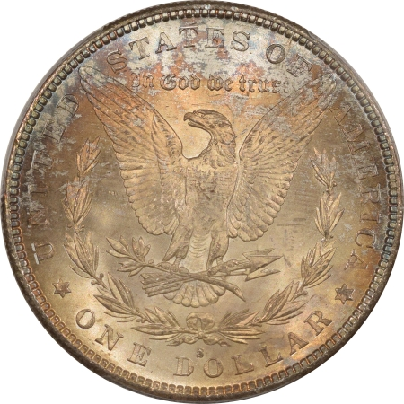 New Certified Coins 1885-S MORGAN DOLLAR PCGS MS-64