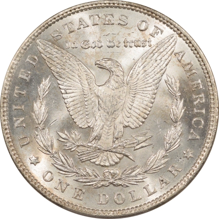 New Certified Coins 1893 MORGAN DOLLAR – PCGS MS-63 BLAST WHITE & PREMIUM QUALITY!