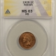 Lincoln Cents (Wheat) 1909 MATTE PROOF LINCOLN CENT – PCGS PR-64+ RB – PRETTY IN HAND!
