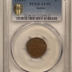 New Certified Coins 1905 INDIAN CENT – PCGS MS-63 BN