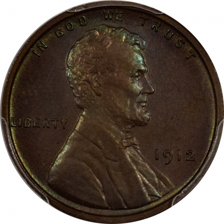 New Certified Coins 1912 MATTE PROOF LINCOLN CENT PCGS PR-64 BN PREMIUM QUALITY W/ GREEN UNDERTONES!