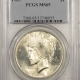 New Certified Coins 1923 PEACE DOLLAR – PCGS MS-66 BLAST WHITE, PREMIUM QUALITY & CAC APPROVED!