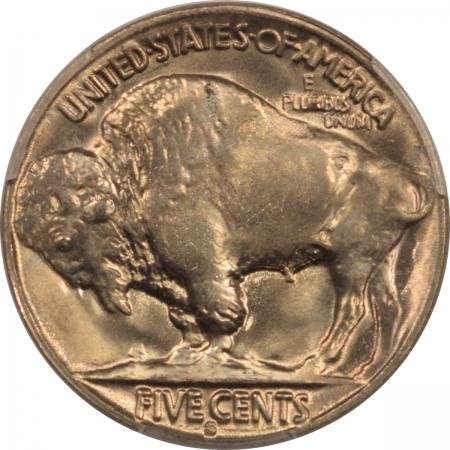 New Certified Coins 1930-S BUFFALO NICKEL – PCGS MS-65 FLASHY GEM!