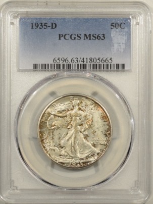 Coin World/Numismatic News Featured Coins 1935-D WALKING LIBERTY HALF DOLLAR – PCGS MS-63