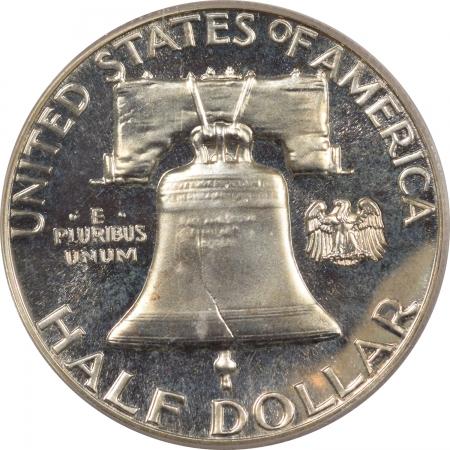 New Certified Coins 1962 PROOF FRANKLIN HALF DOLLAR – PCGS PR-67