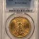 New Certified Coins 1907 $20 LIBERTY GOLD – PCGS MS-64 FLASHY!