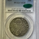 New Certified Coins 1809 CAPPED BUST HALF DOLLAR – XXX EDGE – PCGS VG-8 CAC APPROVED!