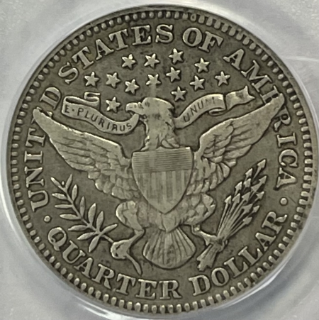 New Certified Coins 1909 BARBER QUARTER – PCGS VF-35 CAC APPROVED!
