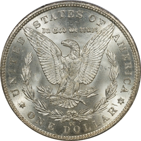 New Certified Coins 1883-CC MORGAN DOLLAR – PCGS MS-63, CAC APPROVED! MS-64 QUALITY! PQ! RATTLER!
