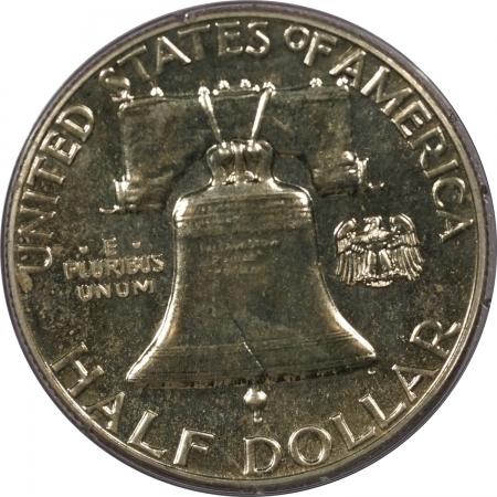 Franklin Halves 1960 PROOF FRANKLIN HALF DOLLAR – PCGS PR-65 RATTLER!