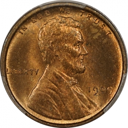 New Certified Coins 1909 VDB LINCOLN CENT – PCGS MS-65 RB