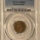 New Certified Coins 1864 INDIAN CENT, COPPER NICKEL – PCGS XF-45