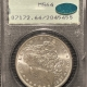 New Certified Coins 1887 MORGAN DOLLAR – PCGS MS-65 LOOKS 66++ CAC APPROVED, RATTLER!