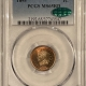 New Certified Coins 1886 INDIAN CENT, VARIETY 1 – PCGS AU-58
