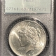 New Certified Coins 1923 PEACE DOLLAR – PCGS MS-65 LOOKS MS-66! PREMIUM QUALITY! RATTLER!