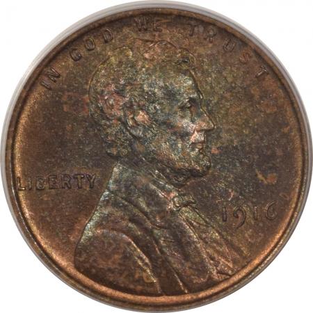 Lincoln Cents (Wheat) 1916 MATTE PROOF LINCOLN CENT – PCGS PR-64 BN PRETTY! RARE DATE!