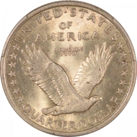 New Certified Coins 1917 STANDING LIBERTY QUARTER – TY I – PCGS MS-65 FH CAC