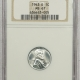 New Certified Coins 1943-D LINCOLN STEEL CENT – NGC MS-67, PREMIUM QUALITY! FATTIE!