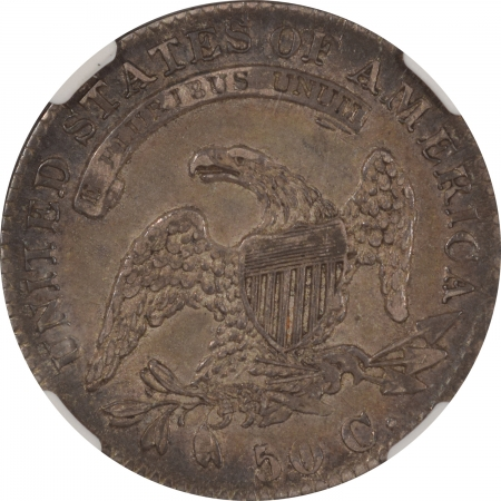 Coin World/Numismatic News Featured Coins 1832 CAPPED BUST HALF DOLLAR PCGS XF-40, PLEASING ORIGINAL