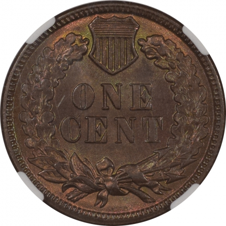 Coin World/Numismatic News Featured Coins 1885 INDIAN CENT NGC MS-65 RB, REALLY PRETTY, PQ!