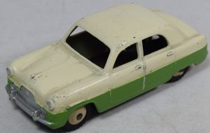 Dinky DINKY #162 FORD ZEPHYR, CREAM OVER GREEN, VG/EXC ORIGINAL CONDITION, 1950's