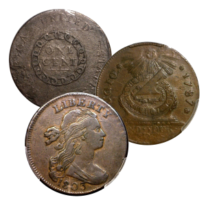 Early Copper & Colonials